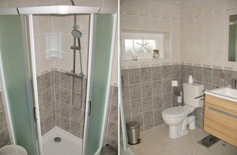 La salle d 39 eau - Plan de douche et toilette ...